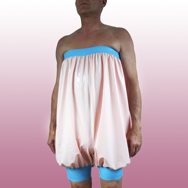 Super hoch geschnittene Latex Bloomer